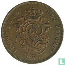 België 2 centimes 1870