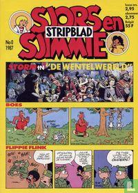Sjors en Sjimmie Stripblad 0