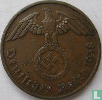 Duitse Rijk 2 reichspfennig 1938 (F)