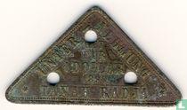 Nederlands-Indië 1 dollar 1890 Plantagegeld, Sumatra, Tanah Radja
