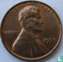 Vereinigte Staaten 1 Cent 1971 (ohne Buchstabe)