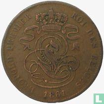België 2 centimes 1861