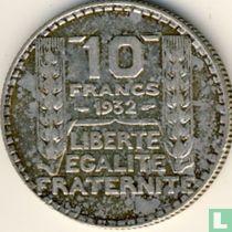 Frankrijk 10 francs 1932