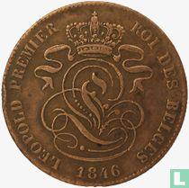 België 2 centimes 1846