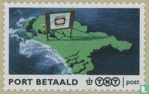 Nederland met reclamebord