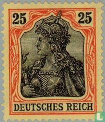 Germania inschrift DEUTSCHES REICH