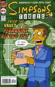 Simpsons Comics 75