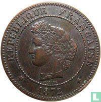 France 5 centimes 1872 (K)
