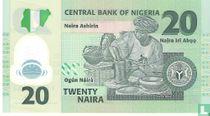 Nigeria 20 Naira 2007