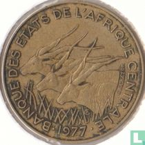 Centraal-Afrikaanse Staten 10 francs 1977