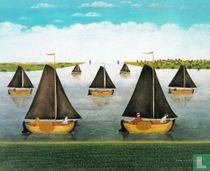 De vloot vaart uit