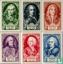 Persoonlijkheden 18de eeuw