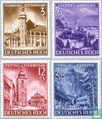 Steiermark, Kärnten en Krain