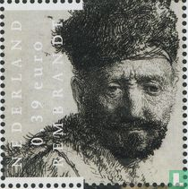 Rembrandt van Rijn - Man met baard in Oosterse kleding
