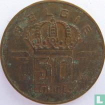België 50 centimes 1952 (NLD)
