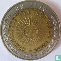 Argentina 1 peso 1995 (with C)