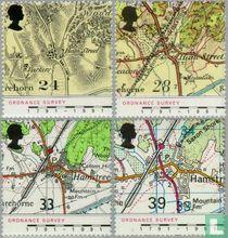Landkarten von Hamstreet