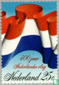 400 years Dutch flag