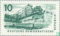 Kohle-Tagebergbau