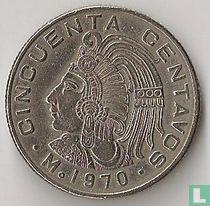 Mexico 50 centavos 1970