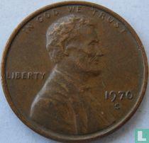 Vereinigte Staaten 1 Cent 1970 (S - Typ 1 - große Datum)