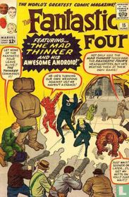 The Fantastic Four Battle the Mad Thinker and His Awesome Android