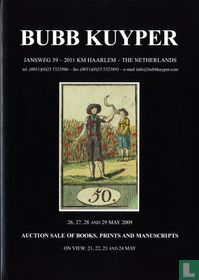 Auction sale of books, prints and manuscripts