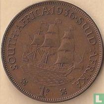 Afrique du Sud 1 penny 1936