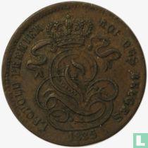 België 1 centime 1835/32