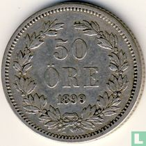 Schweden 50 Öre 1899