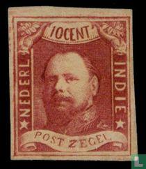 Koning Willem III - 1e emissie