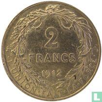 België 2 francs 1912 (FRA)