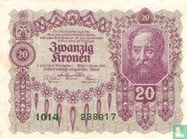 Oostenrijk 20 Kronen 1922