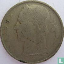 België 5 francs 1958 (FRA)