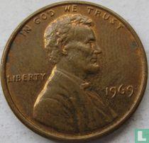Vereinigte Staaten 1 Cent 1969 (ohne Buchstabe)