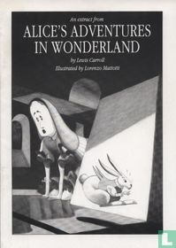 An extract from Alice's adventures in Wonderland
