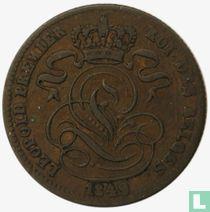 België 1 centime 1849