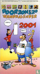 Doorzon & Zo wandkalender 2001