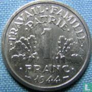 Frankreich 1 Franc 1944 (B)