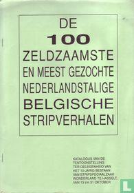 De 100 zeldzaamste en meest gezochte Nederlandstalige Belgische stripverhalen