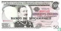 Mozambique 50 Escudos
