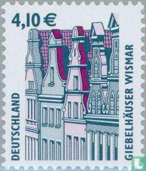 Façade houses Wismar