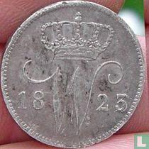 Netherlands 25 cent 1823