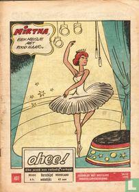 Mirtha, een meisje met rood haar