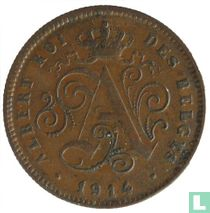 België 2 centimes 1914 (FRA)