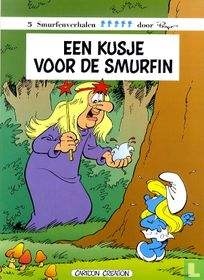 Een kusje voor de Smurfin