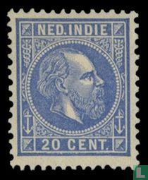 Koning Willem III - 3e emissie