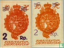 1921 Opdruk  (LIE 8)