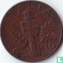 Italien 10 Centesimi 1938