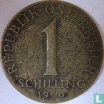 Austria 1 schilling 1960